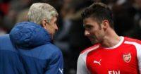 Olivier Giroud: Admiration from Arsene Wenger
