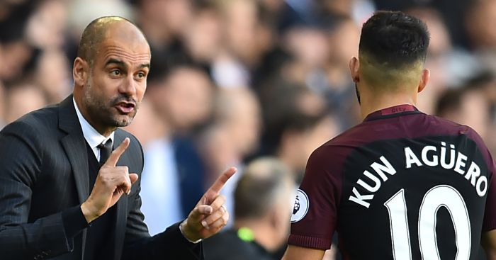 Pep Guardiola: No issue with Aguero or Kompany