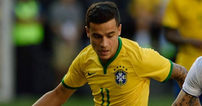 Philippe Coutinho: Branded a magician by Brazil boss