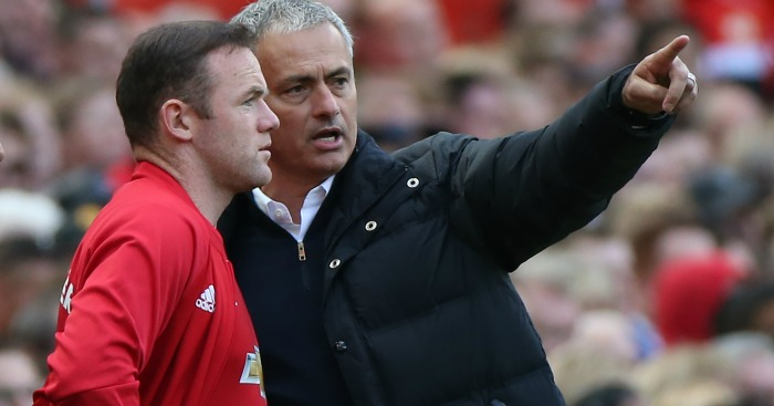 Wayne Rooney: Supported by his manager