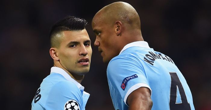Sergio Aguero and Vincent Kompany: To leave Man City?