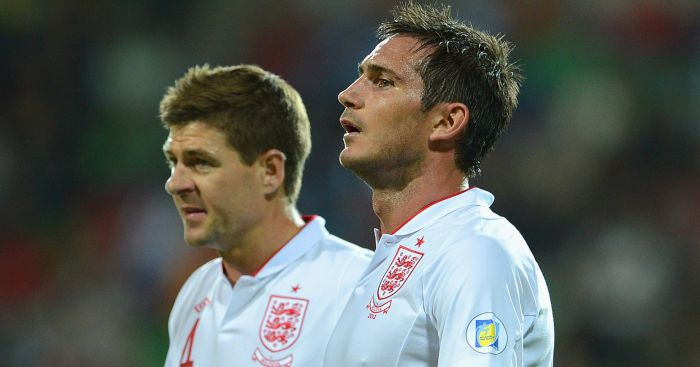 Steven Gerrard and Frank Lampard: Both left MLS