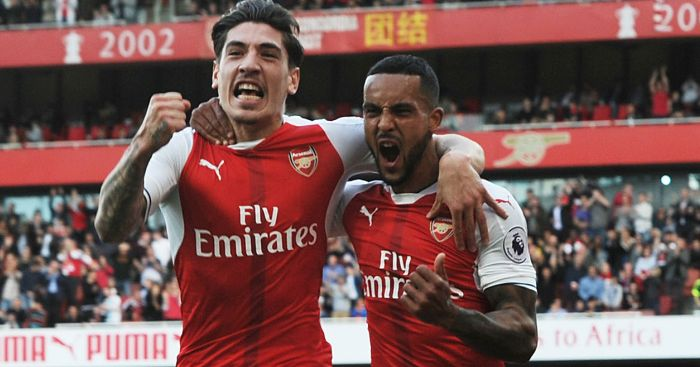 Theo Walcott: In fine form for Arsenal