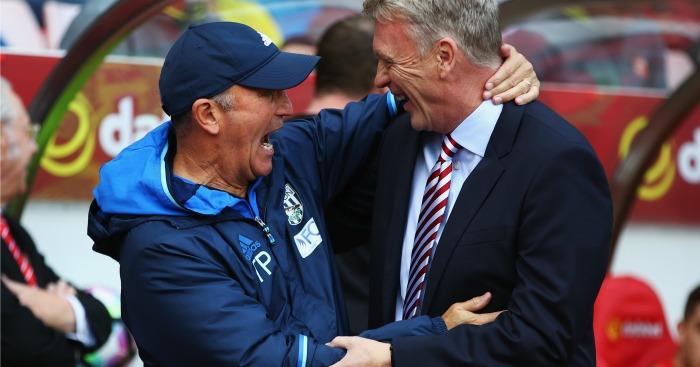 Tony Pulis David Moyes