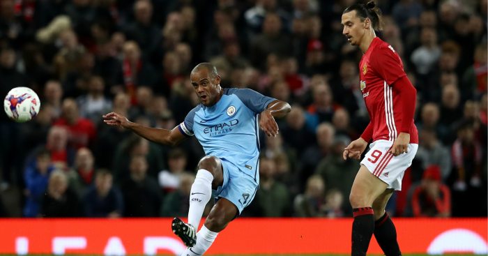 Vincent Kompany: Captain substituted at half-time