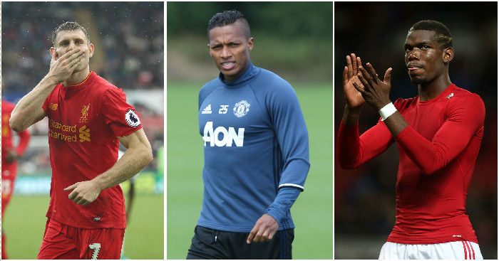 Milner, Pogba, Valencia: All in combined XI