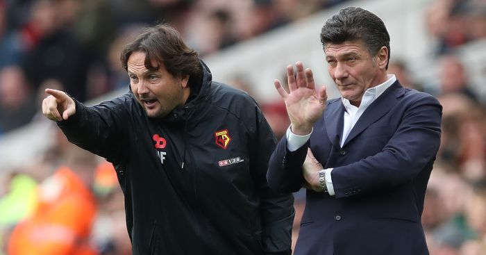 Walter Mazzarri: Dishes out the instructions