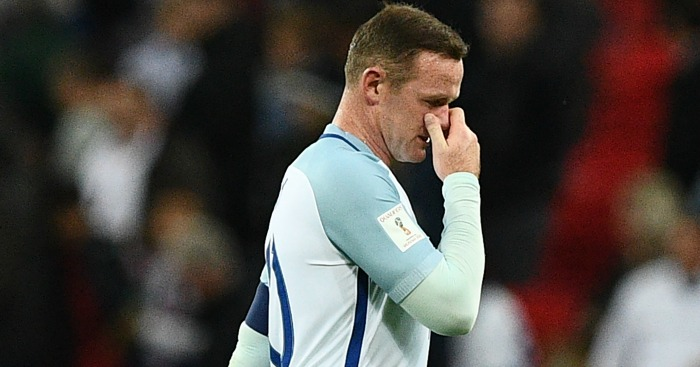Wayne Rooney: A slow, sorry decline for England