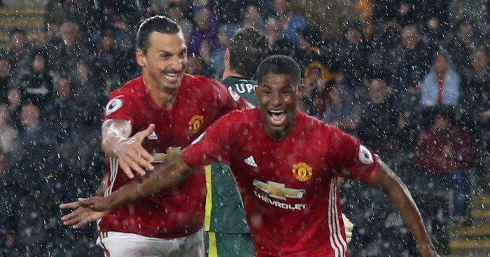 Marcus Rashford: Striker hails influence of Ibrahimovic