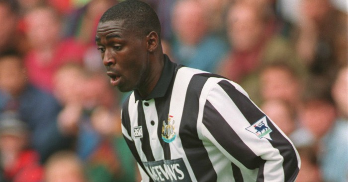 Andy Cole: In his Newcastle days