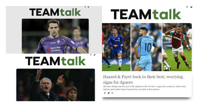 TEAMtalk Newsletter: Sign up now