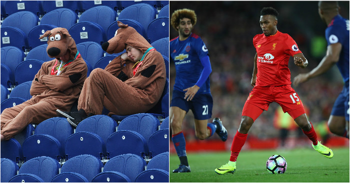 Scooby Doo moment at Anfield