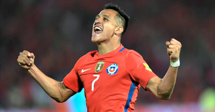 Alexis Sanchez: On the scoresheet for his country on Tuesday