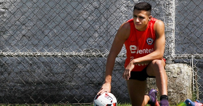 Alexis Sanchez: Fit for Chile