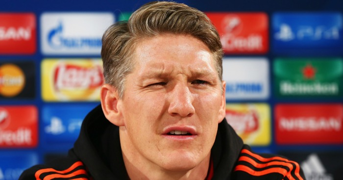 Bastian Schweinsteiger: Almost done at Man Utd