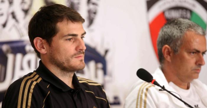 Casillas Mourinho