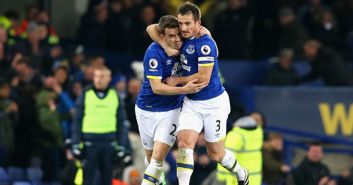 Seamus Coleman: Equalised for Everton