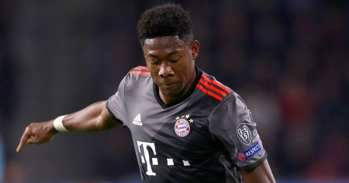 David Alaba: Linked with Man Utd move