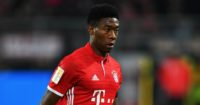 David Alaba: Defender in action for Bayern Munich