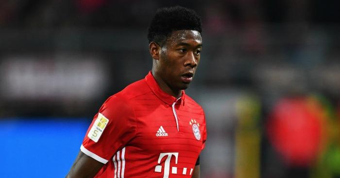 David Alaba: Defender in action for Bayern Munich
