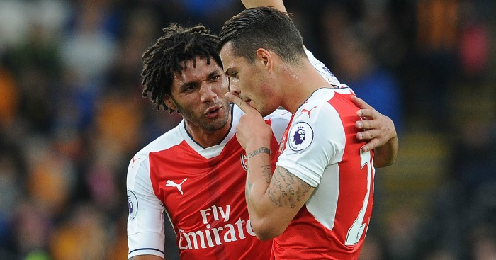 Mohamed Elneny: Happy at Arsenal