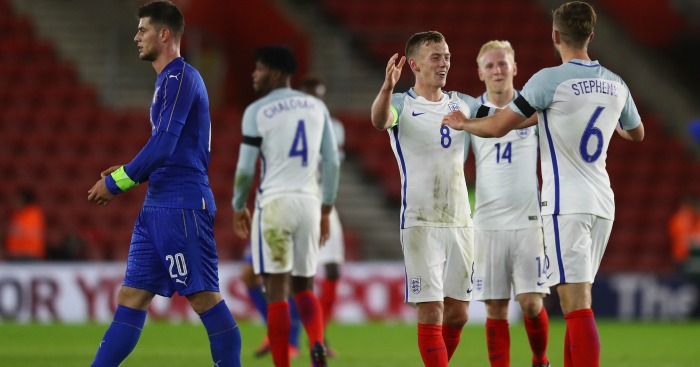 Eng Under-21s: Defeated Italy last night