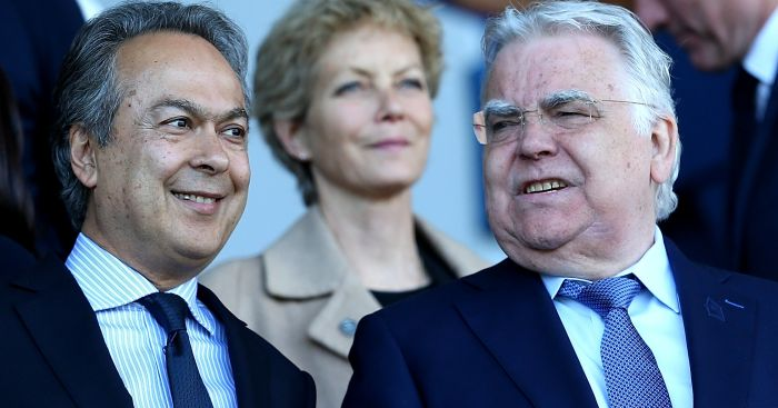 Farhad Moshiri: with Bill Kenwright