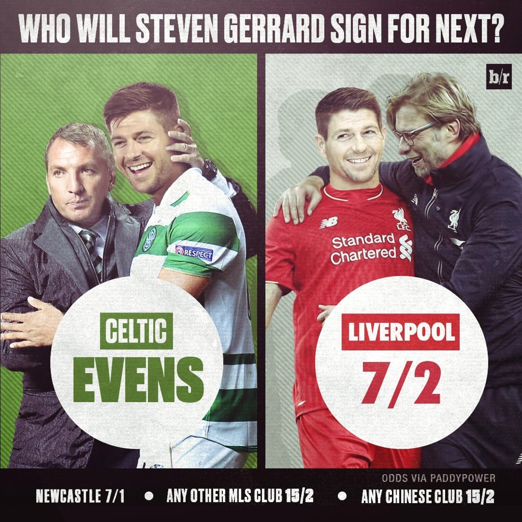 Steven Gerrard next move