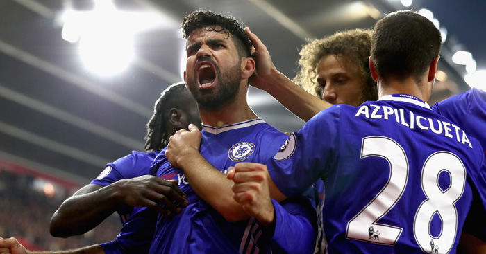 Diego Costa: Chelsea man looking to down Everton