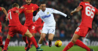 Kemar Roofe: Constant threat for Leeds at Liverpool