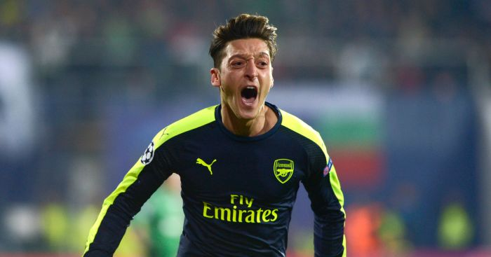 Mesut Ozil: Man Utd target