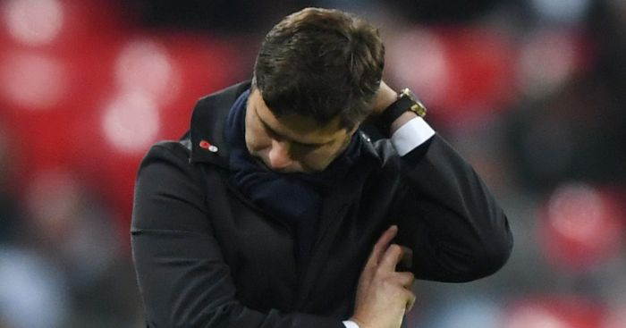 Mauricio Pochettino: Tough viewing at Wembley