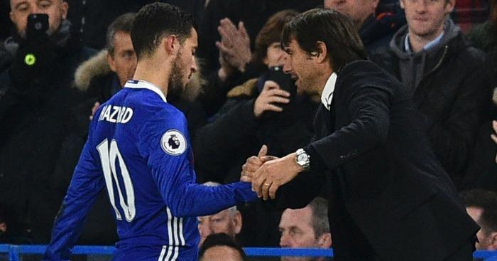 Antonio Conte: Given Hazard freedom to play his game