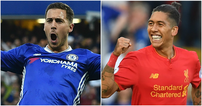 Eden Hazard & Roberto Firmino: In fine form this weekend