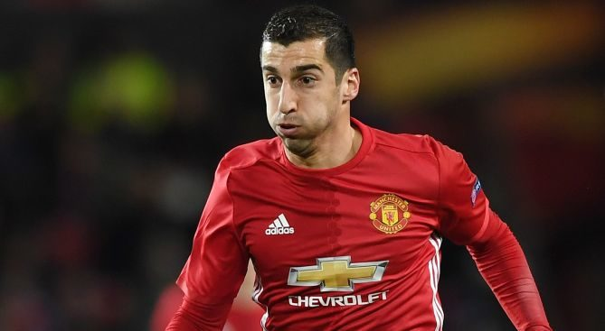 Henrikh Mkhitaryan: Back in the fold for United