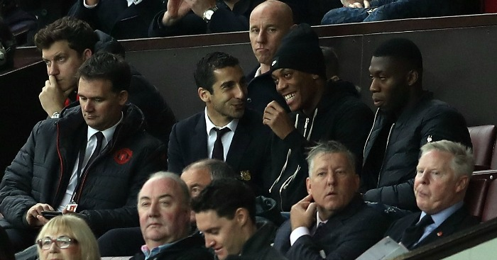Henrikh Mkhitaryan: Forced to watch from the stands of late
