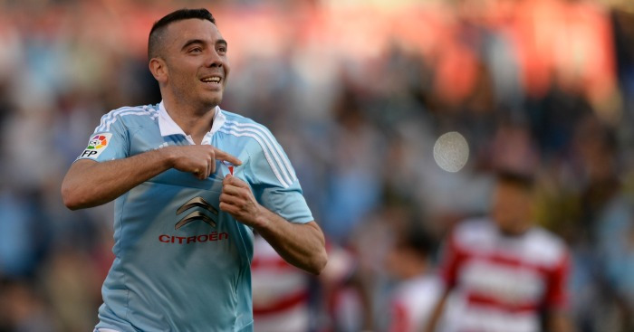 Iago Aspas: Forward impressing at Celta Vigo