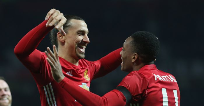 Zlatan Ibrahimovic: Backs Martial to succeed