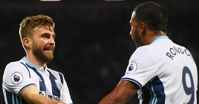 James Morrison: Celebrates West Brom's second
