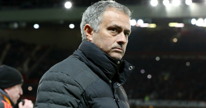 Jose Mourinho: Was sent from the touchline again on Sunday