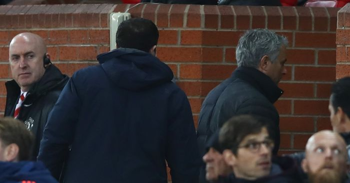 Jose Mourinho: Sent to stands...again