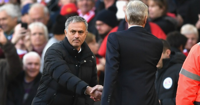 Jose Mourinho & Arsene Wenger: Shake hands before kick-off