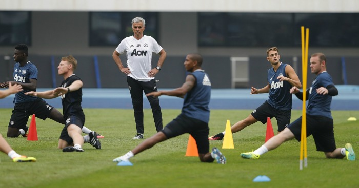 Jose Mourinho: Training methods blamed