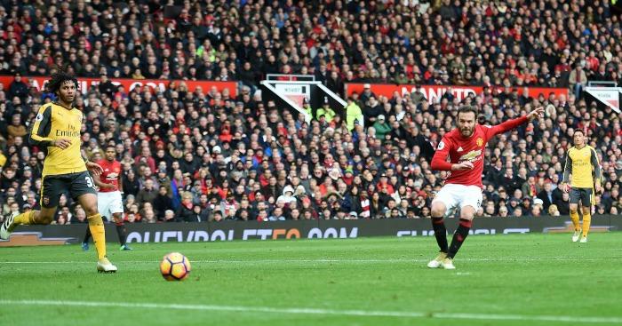 Juan Mata: Drills in his goal for United