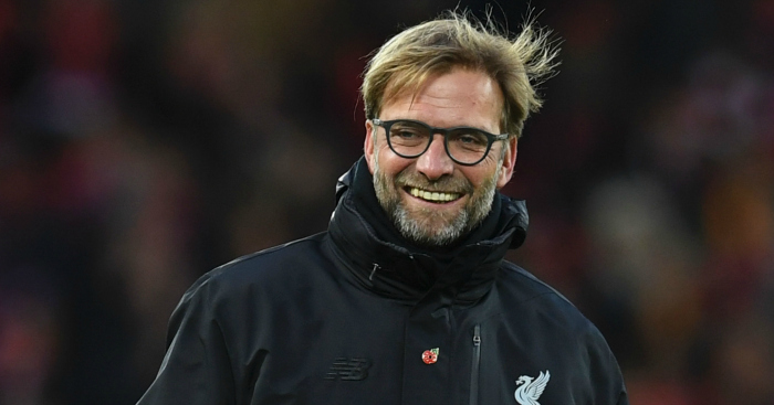 Jurgen Klopp: Thrilled to be top