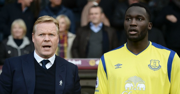 Ronald Koeman: Wants more from Lukaku