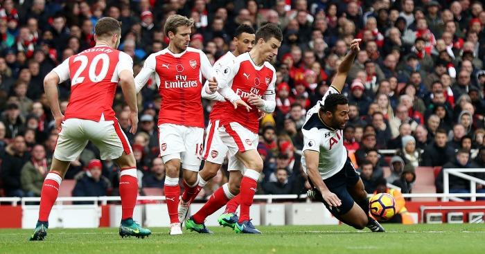 Laurent Koscielny: Defender concedes penalty