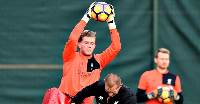 Loris Karius: Trains with John Achterberg