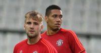 Luke Shaw & Chris Smalling; Duo criticised