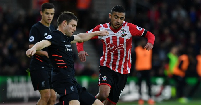 James Milner: Battles with Sofiane Boufal
